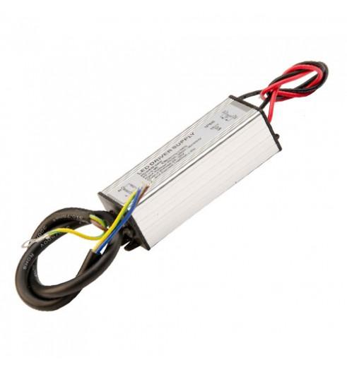 Светодиодный драйвер для COB матрицы 30Вт 900мА, IP65