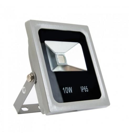 Светодиодный прожектор LED 10Вт цветной, IP65